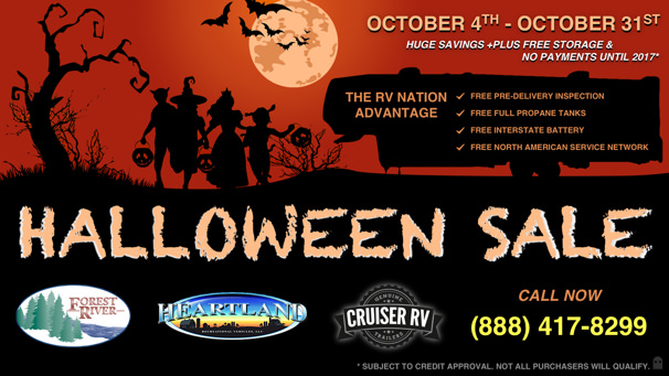 2016 Pick-A-Treat Halloween RV Sale