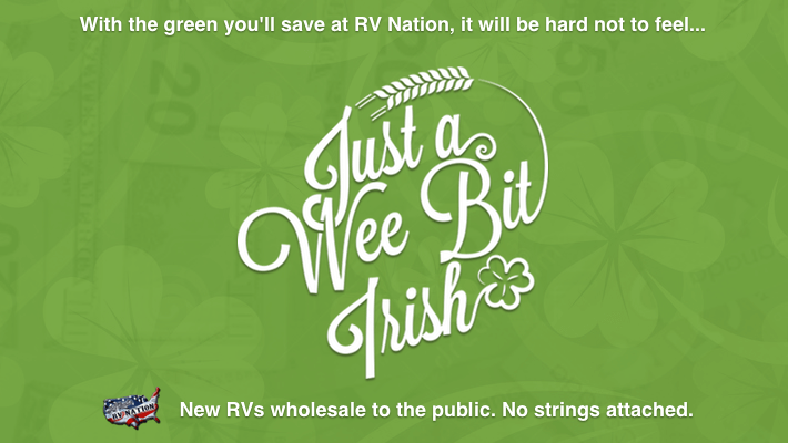 RV Nation Wee Bit Irish 2019