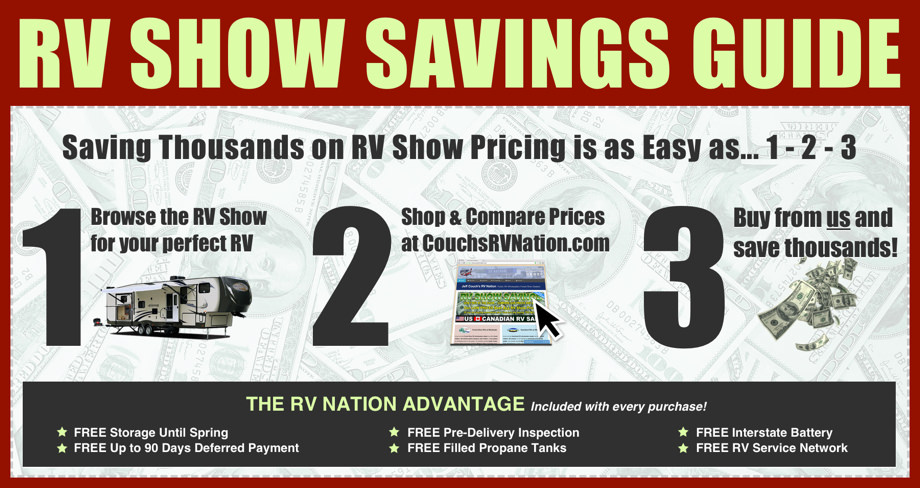 RV Show Savings at Jeff Couch's RV Nation