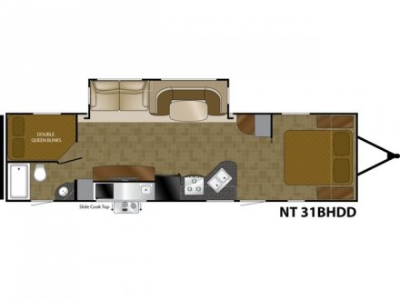 2018 North Trail 31BHDD Travel Trailer Link to Photo 143276