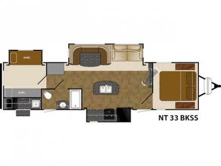 2018 North Trail 33BKSS Travel Trailer Link to Photo 143279