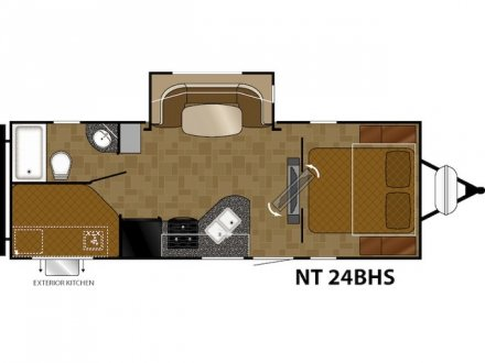 2018 North Trail 24BHS Travel Trailer Link to Photo 156387