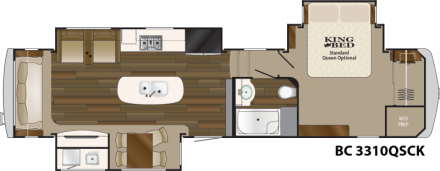 2018 Big Country 3310QSCK Fifth Wheel Link to Photo 183671