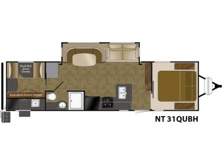 2019 North Trail 31QUBH Travel Trailer Link to Photo 182385