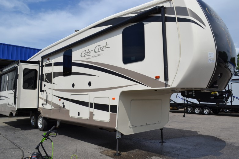 2019 Cedar Creek Champagne 38EL Fifth Wheel by Forest