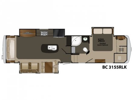 2019 Big Country 3155RLK Fifth Wheel Link to Photo 186906