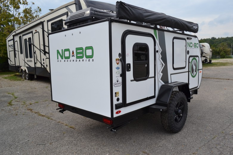 2019 No Boundaries (NOBO) NB10.5 Travel Trailer by Forest ...
