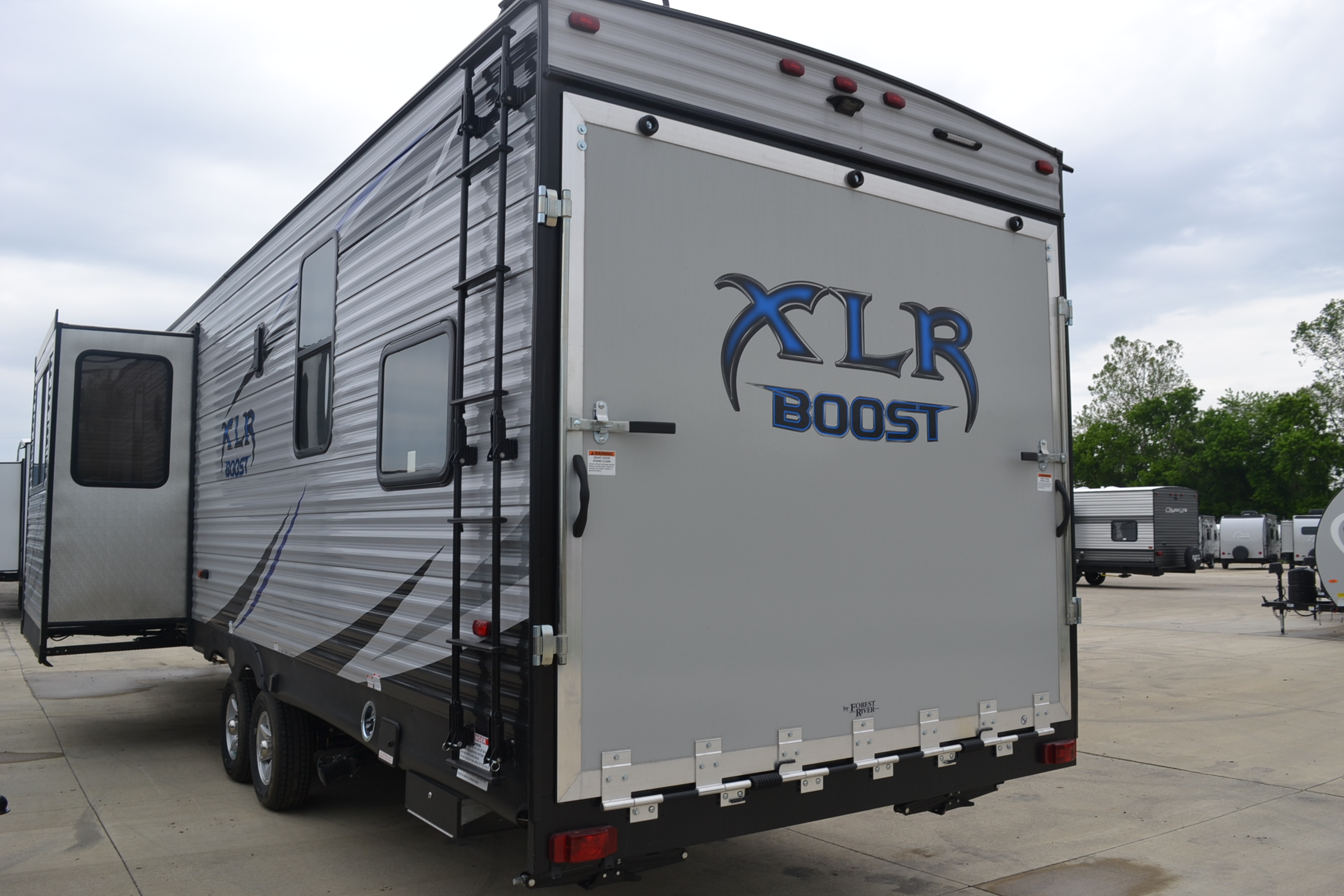 2019 XLR Boost 29QBS Toy Hauler (Travel Trailer) by Forest ...