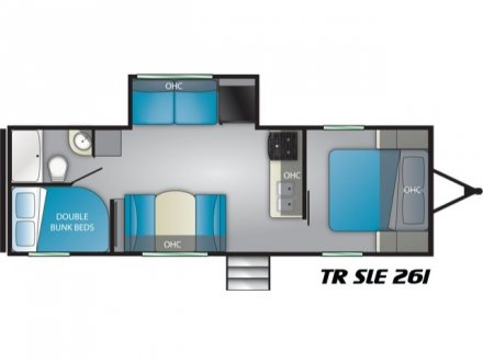 2019 Trail Runner SLE 261SLE Travel Trailer Link to Photo 217289