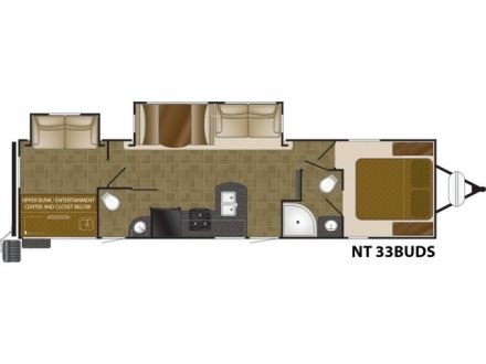 2020 North Trail 33BUDS Travel Trailer Link to Photo 247674