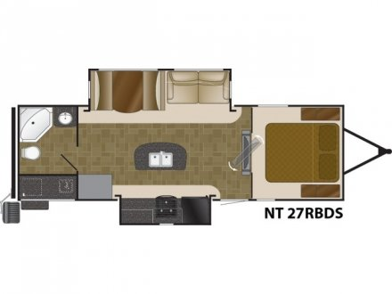 2020 North Trail 27RBDS Travel Trailer Link to Photo 266008