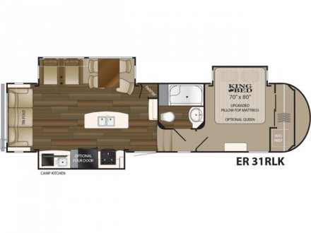 2020 Elkridge 31RLK Fifth Wheel Link to Photo 275297