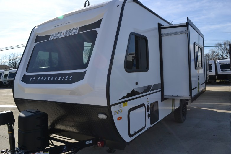 2021 No Boundaries (NOBO) NB19.8 Travel Trailer by Forest ...