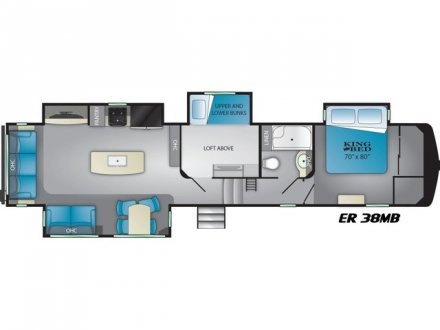 2020 Elkridge 38MB Fifth Wheel Link to Photo 335428