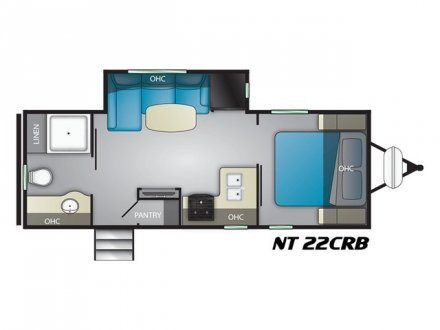 2021 North Trail 22CRB Travel Trailer Link to Photo 355211