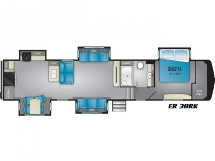 2021 Elkridge 38RK Fifth Wheel Link to Photo 355778