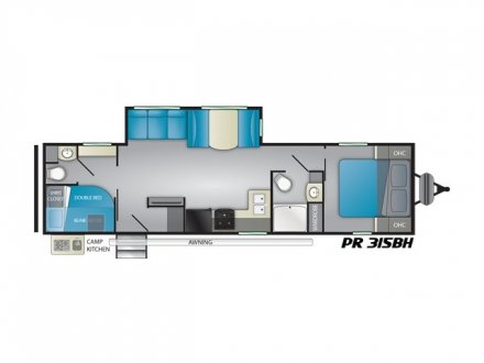 2021 Prowler 315BH Travel Trailer Link to Photo 364923