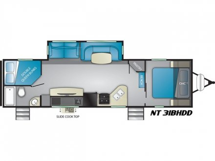 2021 North Trail 31BHDD Travel Trailer Link to Photo 371399