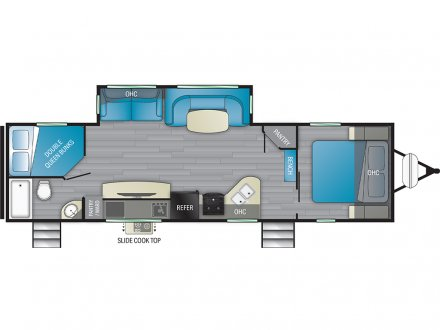 2021 North Trail 31BHDD Travel Trailer Link to Photo 379965