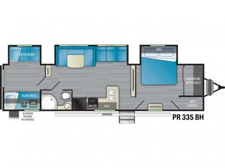 2022 Prowler 335BH Travel Trailer Link to Photo 396781