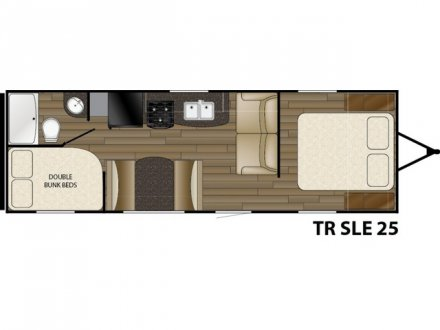 2017 Trail Runner SLE 25SLE Travel Trailer Link to Photo 124731