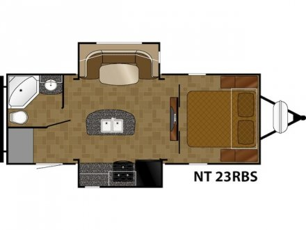 2017 North Trail 23RBS Travel Trailer Link to Photo 132766