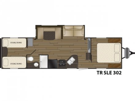 2018 Trail Runner SLE 302SLE Travel Trailer Link to Photo 141472